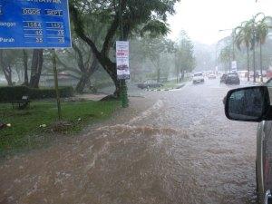 Rainy season in Sarawak