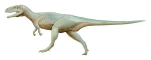 Artist's impression of Megalosaurus