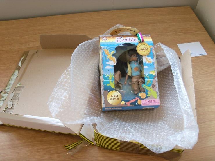 Special delivery on Allie's desk
