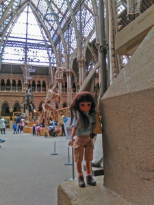 Lottie explores the Museum
