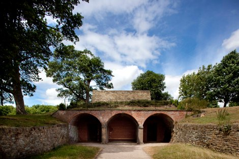 James Turrell, Deer Shelter Skyspace, 2006. An Art Fund Commission. Courtesy the artist. Photo Jonty Wilde