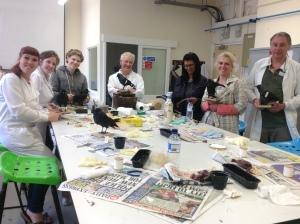 Taxidermy Creations workshop