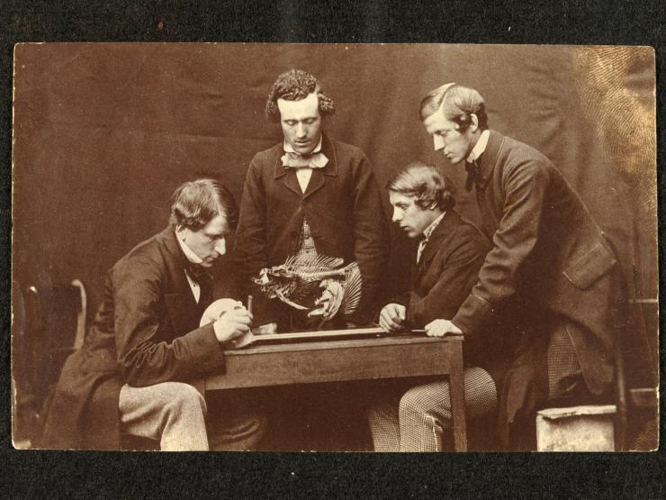 The Anatomy Lesson with Dr George Rolleston by Charles Lutwidge Dodgson