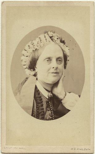 NPG x46569,Mary Elizabeth (nÈe Horner), Lady Lyell,by Horatio Nelson King