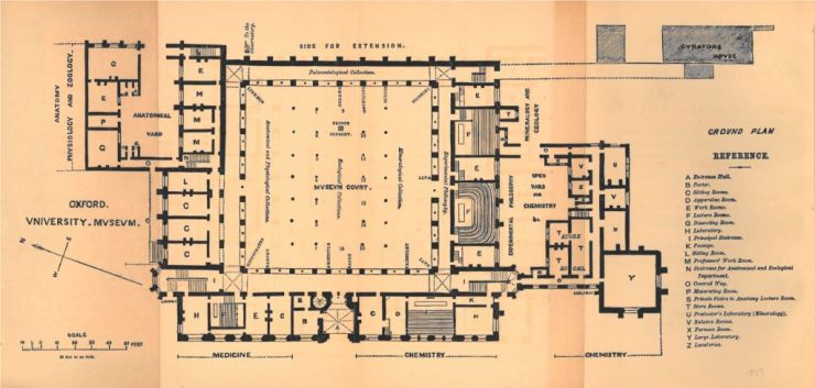Ground floor plan 1866