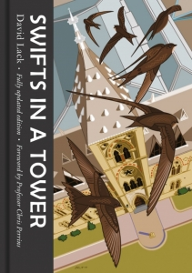 Cover of 2018 edition of Swifts in a Tower by David Lack