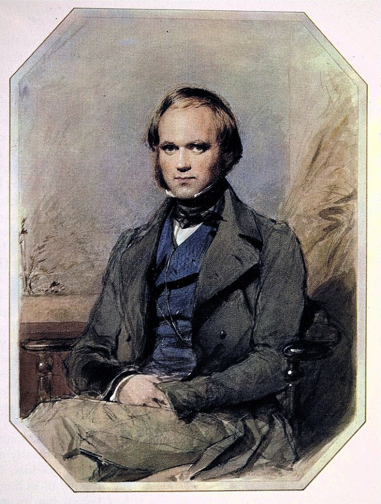 Image of Young Darwin