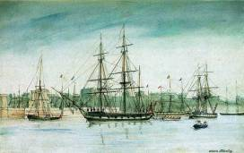 Image of the HMS Beagle