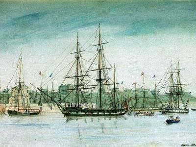 Image of the HMS Beagle